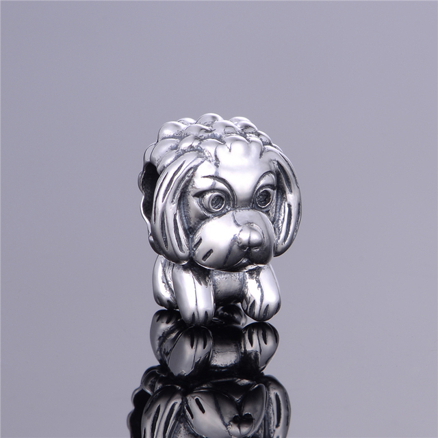 Dog Charm 925 Silver Fashion Jewelry