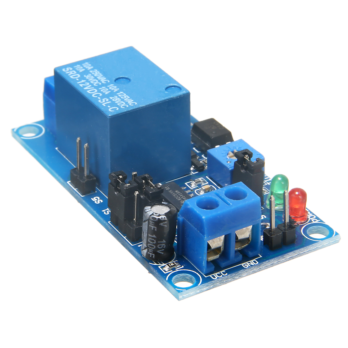 1pc DC 12V Time Delay Relay Module Circuit Timer Timing Board Switch Trigger Control Module