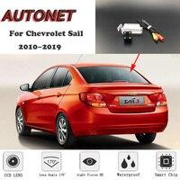 AUTONET HD Night Vision Backup Rear View camera For Chevrolet Sail Springo EV Chevytaxi Premium 2010~2019 license plate Camera