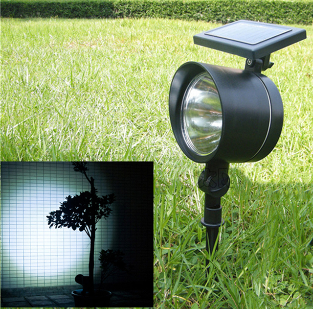 High brightness led solar light outdoor solar power spot light high brightness led solar light outdoor solar power spot light garden lawn lamp landscape flood light mozeypictures Image collections
