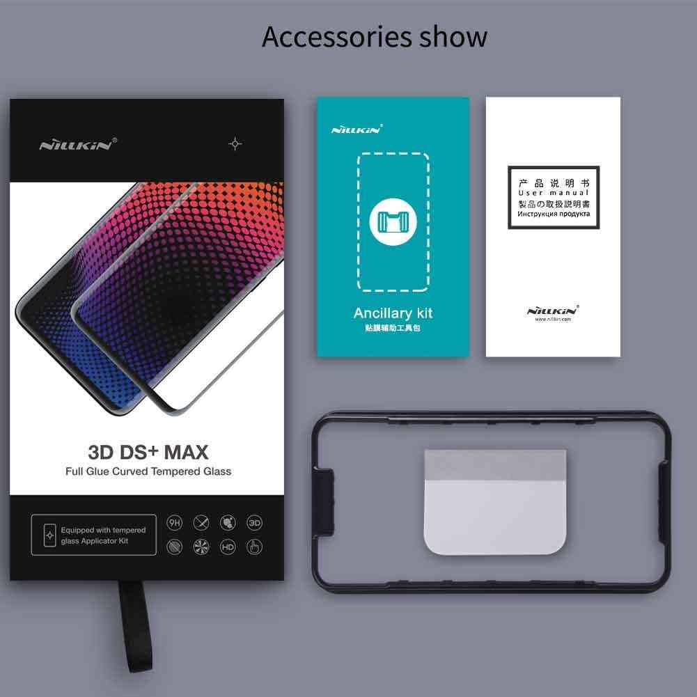 Nillkin verre plein colle pour Huawei Mate 20 Pro Film protecteur d'écran verre trempé 9D 9 H sécurité outils d'installation gratuits