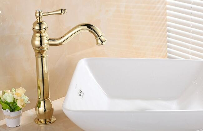 Hot and cold water single handle faucets bathroon wahbasin taps golden sink mixer tap basin faucetHot and cold water single handle faucets bathroon wahbasin taps golden sink mixer tap basin faucet