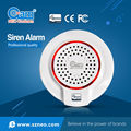 MBZ Wireless Z-wave Siren Alarm Sensor Compatible with Z wave 300 Series and 500 Series Z Wave Home Security Automation System