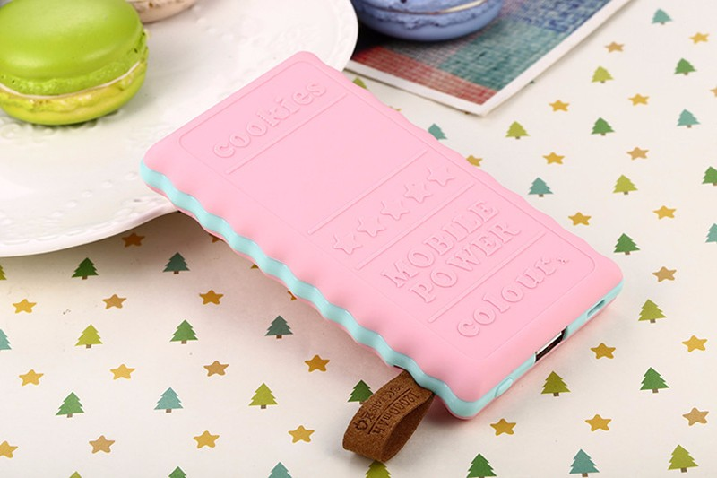 SA18-4-Colors-Cute-8000mAh-Cookie-Power-Bank-Portable-External-Battery-Backup-Charger-Birthday-Gift-Universal-For-Mobile-Phones- (4)