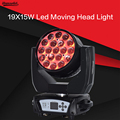 19X15 W LED zoom moving head licht RGBW Wash Effcect Licht voor Dj apparatuur