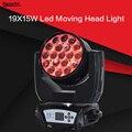 19X15 W zoom testa mobile a LED RGBW luce di Lavaggio Effcect Luce per le apparecchiature per Dj