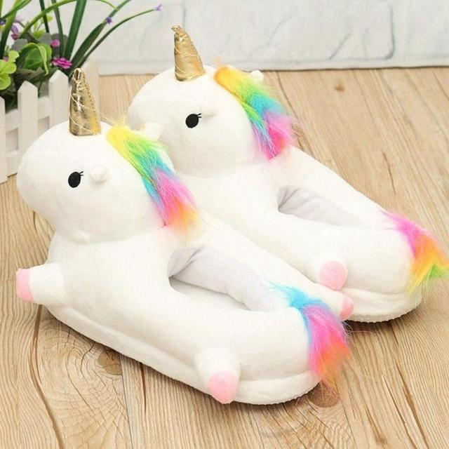 Light-up unicorn slippers 4