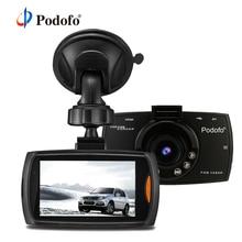 Podofo Автомобильный dvr камера 2,7 «G30 Full HD 1080p 170 градусов Dashcam регистраторы ночное видение видео регистраторы g-сенсор видеорегистратор DVRs