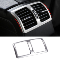 Car Styling Interior Rear Air Condition outlet Vent Cover Trim for Mercedes Benz C Class W204 C180 C200 C260 2008 2014 Accessor