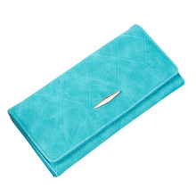 Women Wallets Fashion Korean Style PU Leather Coin Pocket Purse Luxury Ladies Brand Design Card Holder Feminina Handbags