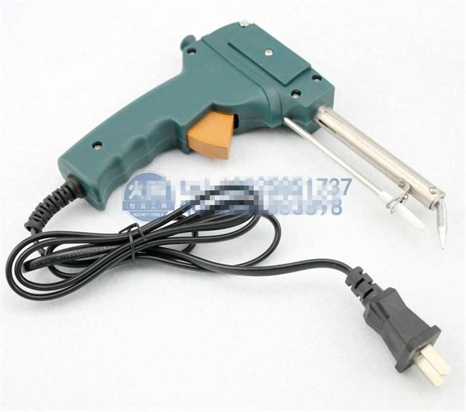 2017 NEW  220V 60W  Automatic Send Tin Gun Electric Soldering Iron Rework Station Desoldering Pump Welding Tool Solder Wire free shipping desoldering gun 842a 220v 30w suction tin soldering iron 2 in 1 electric suction tin tip tong acupuncture