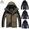 Plus Size 5XL 6XL Casual Jacket Men Women Warm Winter Cotton Down Parkas Casual Waterproof Windproof