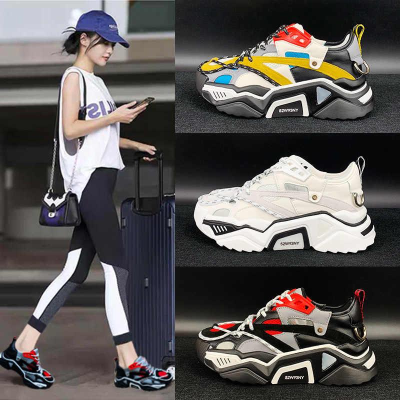 SWYIVY Platform Sneakers Women's Shoes