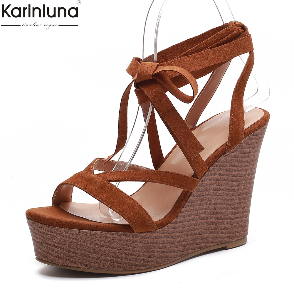 fashion cow suede leather high heels  summer sandals woman shoes wedges shoes woman sandals 2019 womanfashion cow suede leather high heels  summer sandals woman shoes wedges shoes woman sandals 2019 woman