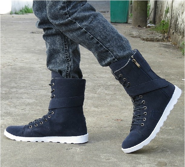 Winter Snow Fashion: 2014 Warm Men's Boots Fashion Snow Boots For Winter High