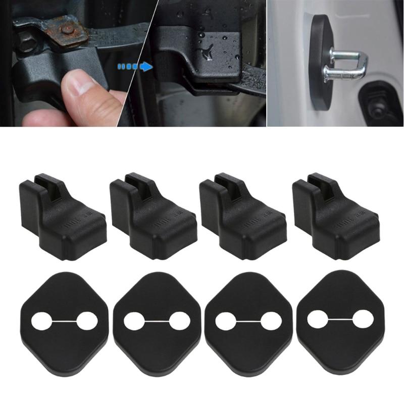 8 pcs/1set Car Door Lock Cover Stopper Protection For Honda CR-V HONDA Accord Fit CITY