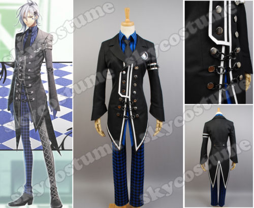 New Anime Amnesia IKKI Cosplay Costume For School Uniform All Size And Set