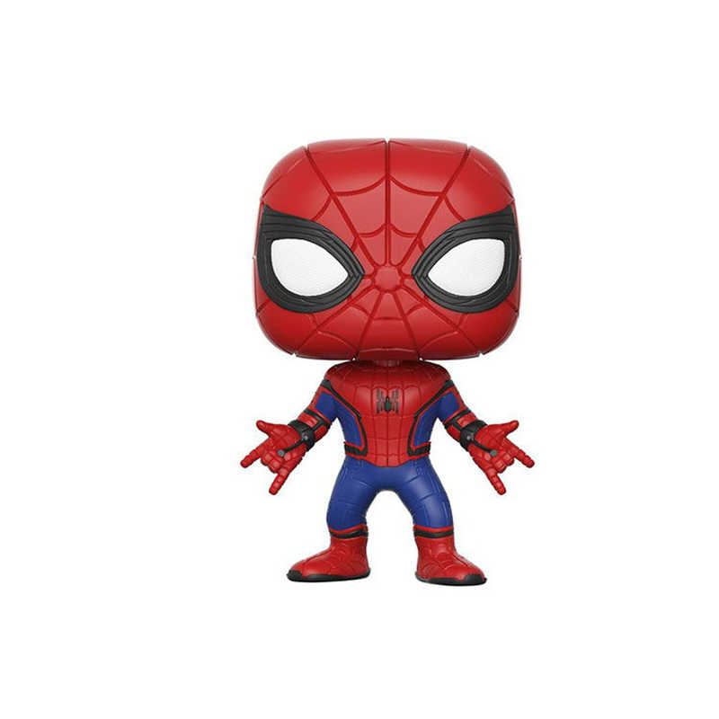 FUNKO POP The Avengers 3: Infinity War & 10cm SPIDER-MAN PVC action Figures collection model toys for children birthday gift