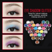 30 Colors Eye Shadow Powder pigment Colorful Makeup Mineral Eyeshadow Pigment set Makeup tools cosmetic 2017 Sale Best Selling