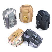 Portable Military Tactical Backpack Accessory Kit Unisex 600D Nylon Outdoor Bag Compact EDC Pouch Utility Gadget