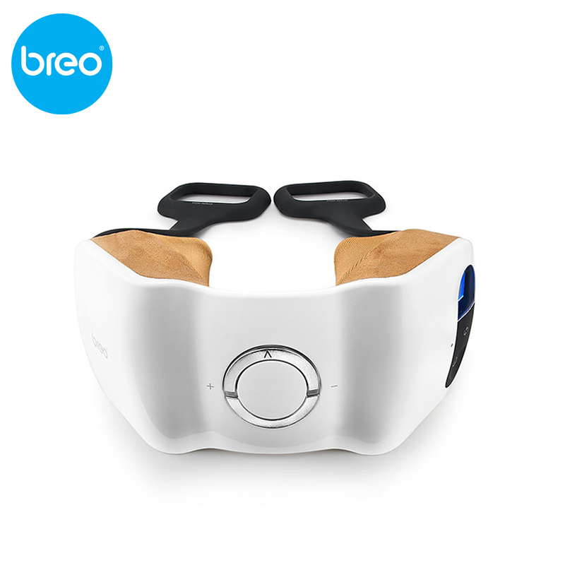 Breo di marca top quanlity Good Design Award massager del collo iNeck 2 ulti-modalità di collo Impastamento di Massaggio, punto di digitopressione Massaggio.