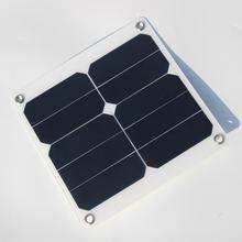 Buheshui 10 w 5 v 2a solaire panneau chargeur vert portable étanche conception usb port camping en plein air sunpower haute efficacité
