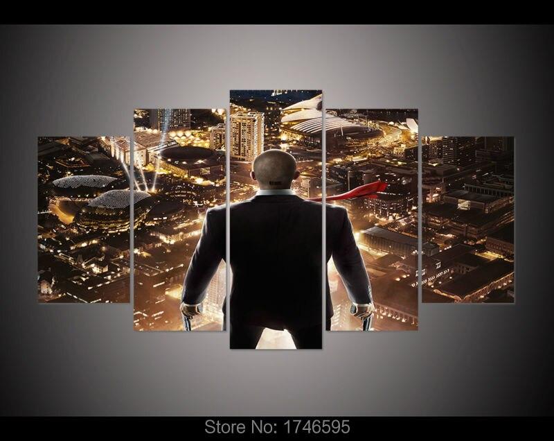 50x28 Inches Printed Painting Print Movie Hitman Film Movie Poster