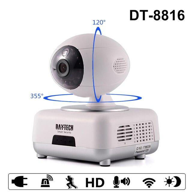 H.264 беспроводной IP камера камера wi-fi 720 P ночного видения мини камеры камеры безопасности инфракрасный двухстороннее аудио монитор камеры камеры Onvif телеметрией