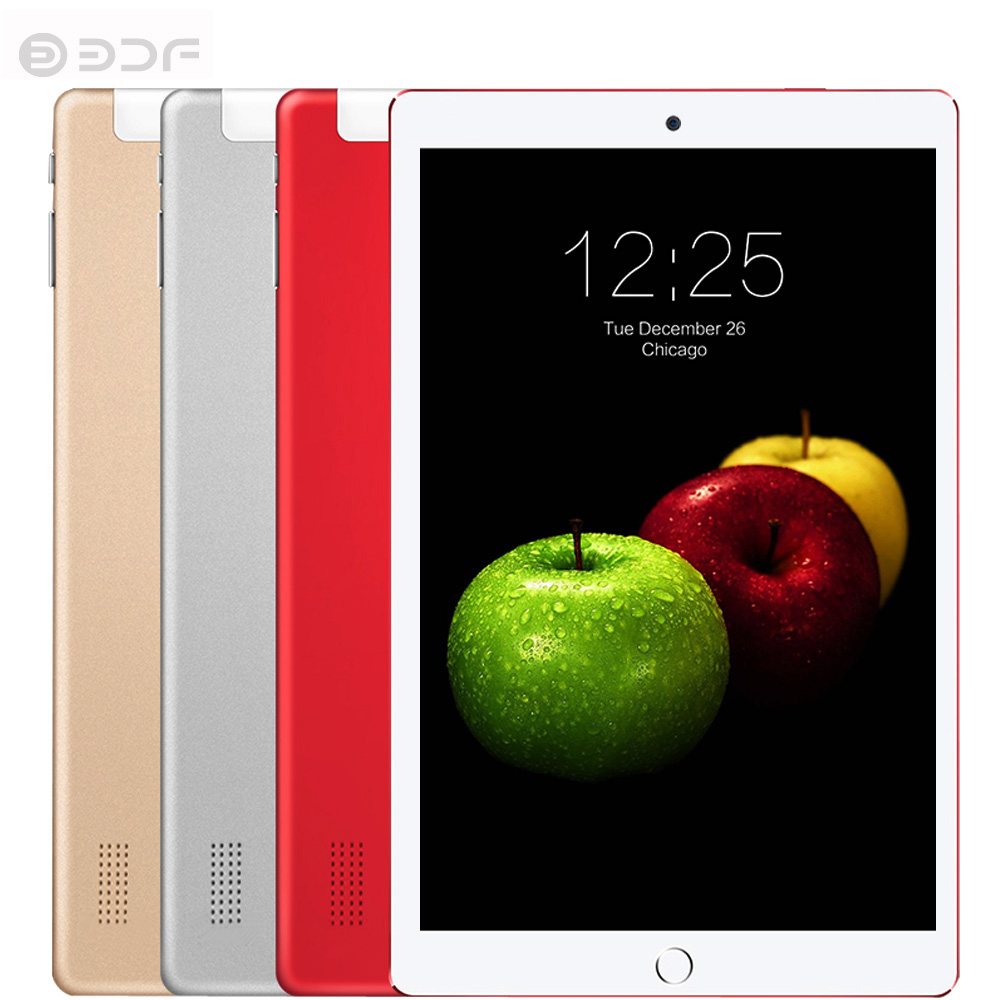 10.1 Inch Android 7.0 Tablets Pc 3G Quad Core 4GB +32GB Mobile Sim Card Phone Call IPS LCD Display Computer Tablet Pc