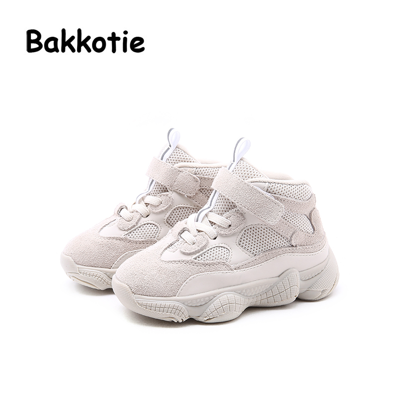 Bakkotie 2018 Autumn Fashion New Toddler Mesh Casual Sneakers Children Sport Shoes Baby Boy White Soft Shoes Girl Brand Trainer bakkotie 2018 spring fashion baby boy mesh shoes children casual sneakers kid black sport shoes girl slip on shoes trainer
