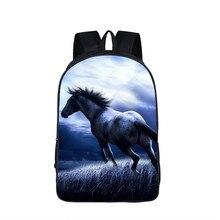 3D Unicorn Printed Backpack