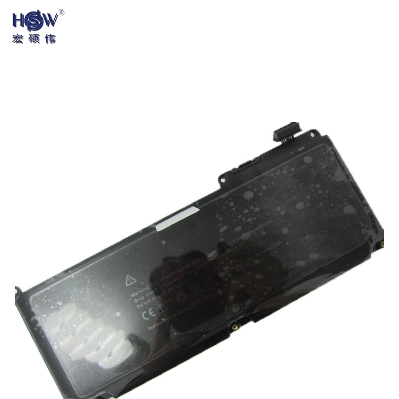 HSW laptop battery for Apple for Macbook MC375ll MB985ll MC118ll A1331 661-5391 for Macbook Unibody 13