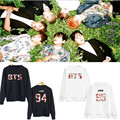 2015 KPOP Bangtan Boys BTS In Bloom Hoody Cartoon Unisex Sweatshirts Pullover Rap Monster J-hope Jin Jimin Hoodie