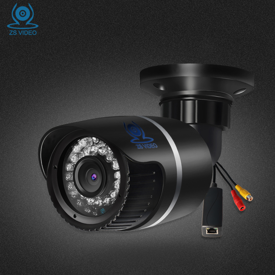 ZSVEDIO Surveillance Cameras POE IR Night Vision IP Camera Outdoor Alarm System CCTV Camera Waterproof NVR CCTV Monitor Webcam hbss 4ch 1 0m hd 2tb hdd poe ip66 waterproof motion detection 1280 720p ir night vision outdoor mult lang surveillance system