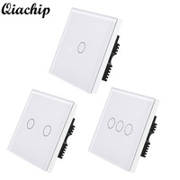 WiFi Switch Smart Home Switch Panel APP Control Touch Work With Amazon Alexa Timing Function Voice