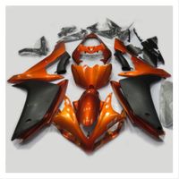ABS Injection Plastics Fairings For Yamaha YZF1000 R1 Year 2007 2008 07 08 Motorcycle Full Fairing Kit painted orange Bodywork