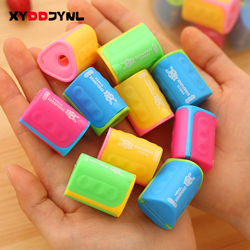 1 Pc Cheap Cute Pencil Sharpener Office Supplies Drawing Supplies Pencils School Stationery Prizes for Students Free Shipping