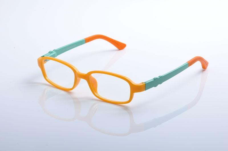 ad45d9b7255 Fashion Kids Children Toddler TR90 Eyeglasses Frames Girls Boys Silicone  Nose Spring hinge Temple Optical Glasses Frames EV1372