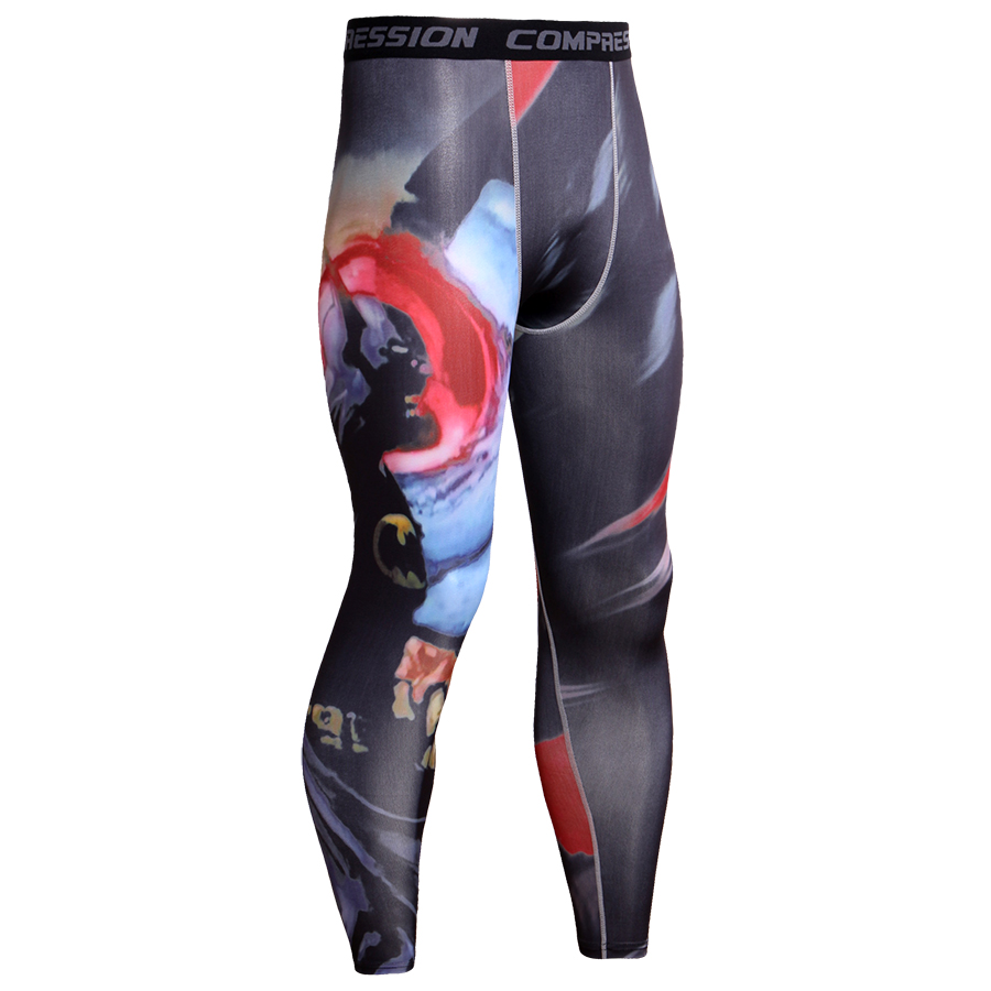 Cool Anime 3D Print Men Pants Fashion Joggers Men Bodybuilding Fitness Crossfit Trousers Soft Leggings MMA Men Compression Pants