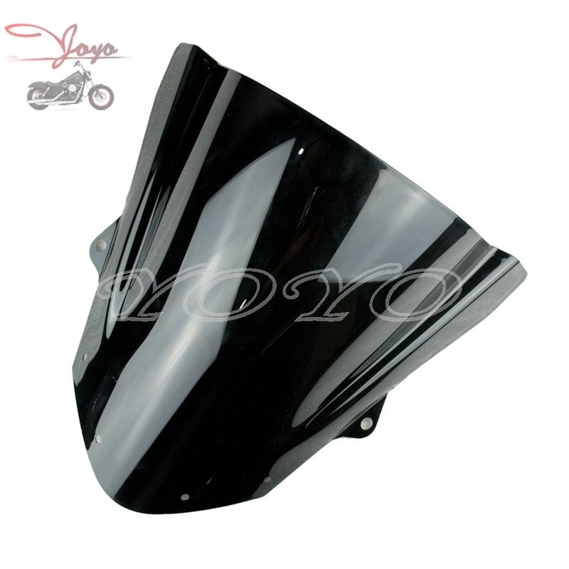 Motorcycle ABS Plastic Windscreen Windshield For ZX6R ZX-6R 2009-2016 ZX10R 2008-2010
