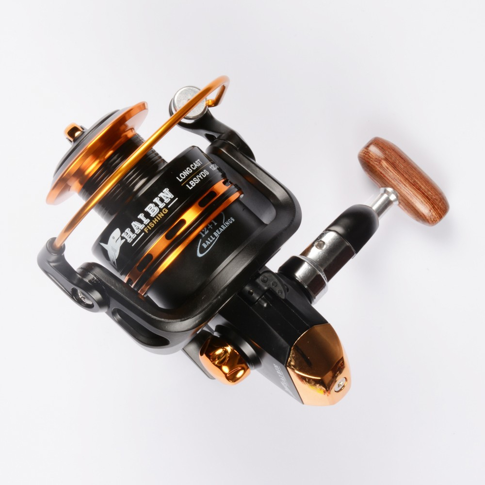 Vissen Spinning Reel 12 + 1 Bearing Balls Spinning reel Super Strong - Visvangst - Foto 2