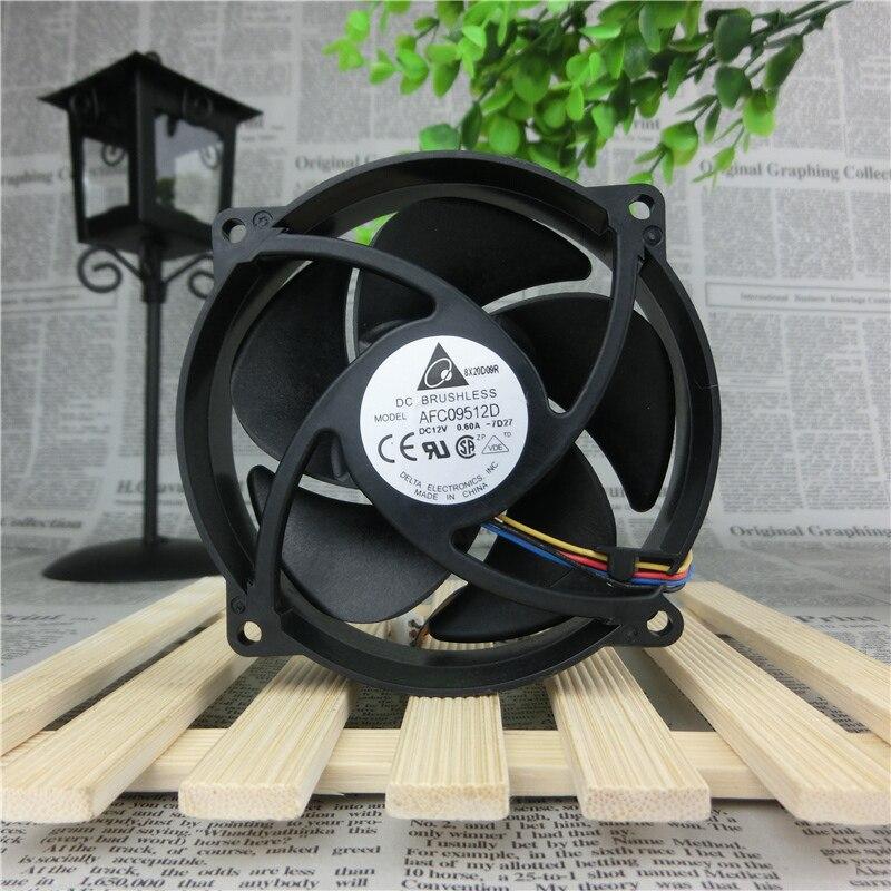 Delta Electronics AFC09512D -7D27 Server Round Fan DC 12V 0.6A 90x90x25mm 4-wire