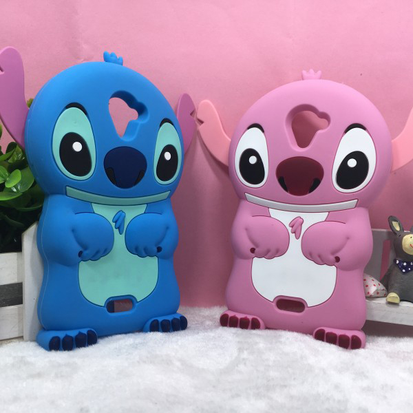 For Cover Case Wiko U Feel Fab Case Luxury Silicone 3D Stitch Phone Case For Coque Wiko U Feel Fab Case Back Cover Funda Capa