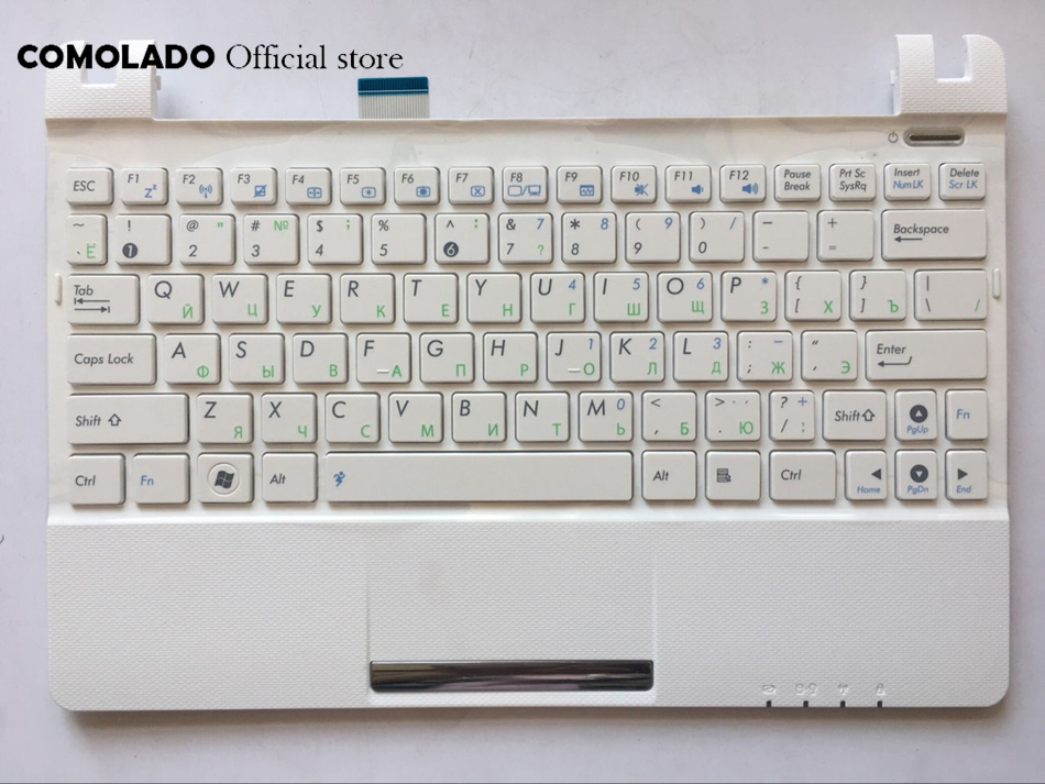 RU Russian Keyboard  For Asus Eee PC X101H X101CH With White Frame Keyboard RU Layout