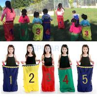 5pcs Set Outdoor Sports Kids Family Games Jumping Sack Toy Race Bag Balance Training Tool Garden Outdoor Creative Games