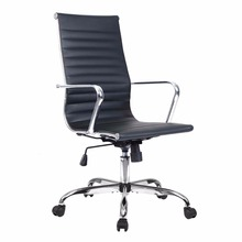 Goplus PU Leather High Back Office Chair Executive Task Ergonomic Computer Chairs Swivel Gaming Chair Office Furniture HW51438