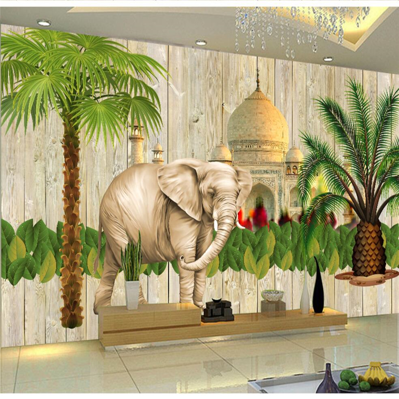 Beibehang Custom Photo Wallpaper 3d Indian Style Southeast