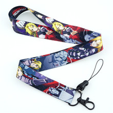 Anime Cartoon Neck Strap Lanyard My Hero Academia Danganronpa Persona P5 Rick and Morty N7 ID badge holder Keychain Lanyards