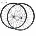 29-дюймовые Углеродные колеса для горного велосипеда XC/AM 37x24 мм бескамерные дисковые велосипедные колеса novatec D411SB D412SB 100x15 142x12 mtb wheelset