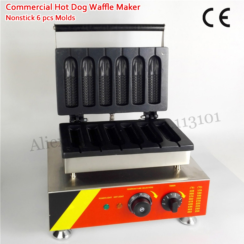 Electric Corn Muffin Hotdog Waffle Machine 1500W Nonstick Sausage Cake Maker for Snack Food Street lole капри lsw1349 lively capris xl blue corn